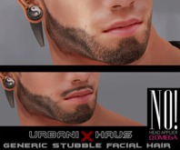 [Urbanix] NO! Omega Generic Stubble FacialHair