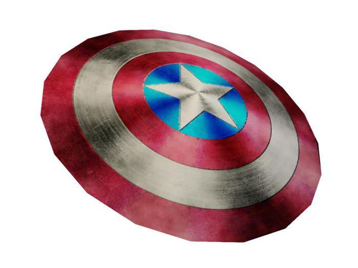 -ADI- Mesh Captain America Shield - FP