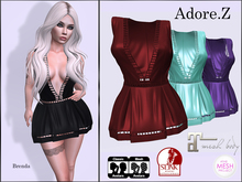 Adore.Z-Brenda Dress Colors
