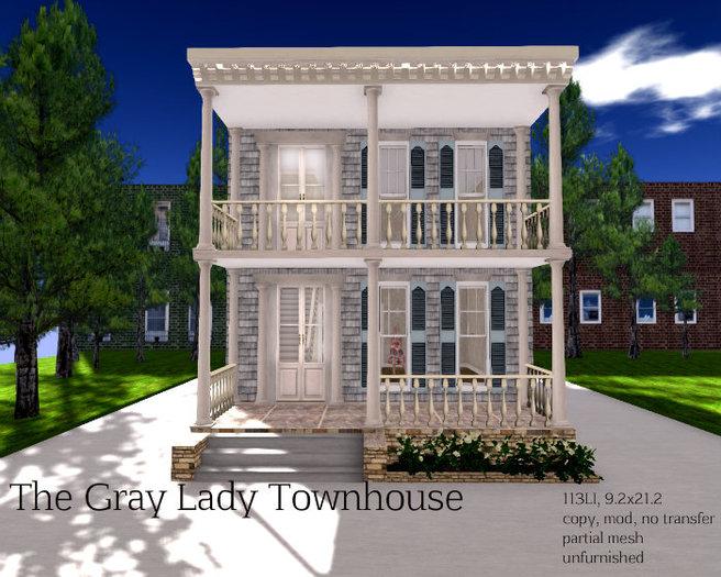 The Gray Lady Townhouse (113LI, 9.2x21.2)