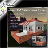 House - Full featured - Only 7 prims!