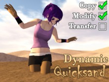 Dynamic Quicksand - Environment feature / Trap