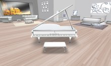Akaesha's Ivory Piano Concert Grand Piano tagmeadowbrook