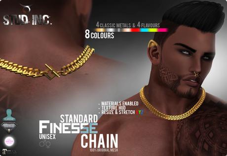 [STUD INC.] - Finesse Chain (Standard)