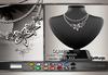 GeWunjo : OLIMPIA black necklace