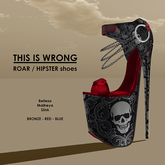 THIS IS WRONG Roar shoes Hipster  - red WINTER PROMO
