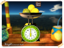 Weight Lemonade Booth ♥ Chez Moi