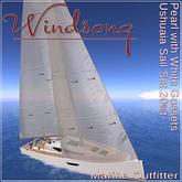 Windsong - TMS/Bandit Ushuaia Sails Pearl-White Trim 20% - Texture Appliers