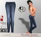 #bubbles Skinny Jeans
