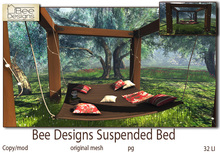 .:Bee Designs :.Suspended bed pg