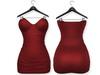 Ducknipple: Mini Dress v3 - Red