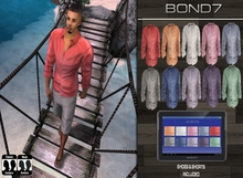 *BOND7* Complete Outfit 2.0 (Wade: Light Colors) HUD