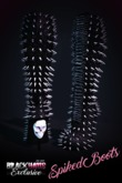 BLACK HAUS - Spiked High Boots