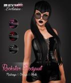 BLACK HAUS - Rockstar Bodysuit Black Slink, Maitreya, Omega