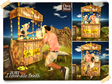 JUST Lemonade Booth ♥ Chez Moi