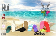 ::ALTER:: Maui Flip Flops - MAITREYA, BELLEZA, SLINK, TMP