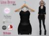 Lisa Dress Black