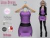 Lisa Dress Purple