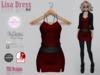 Lisa Dress Red