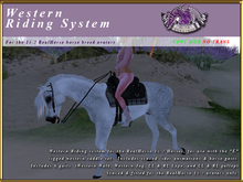 *E* RealHorse Western Riding System [BOXED]