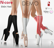 """DEMO_N-core BALLET """"All Colors"""" (Fitted Mesh)"""