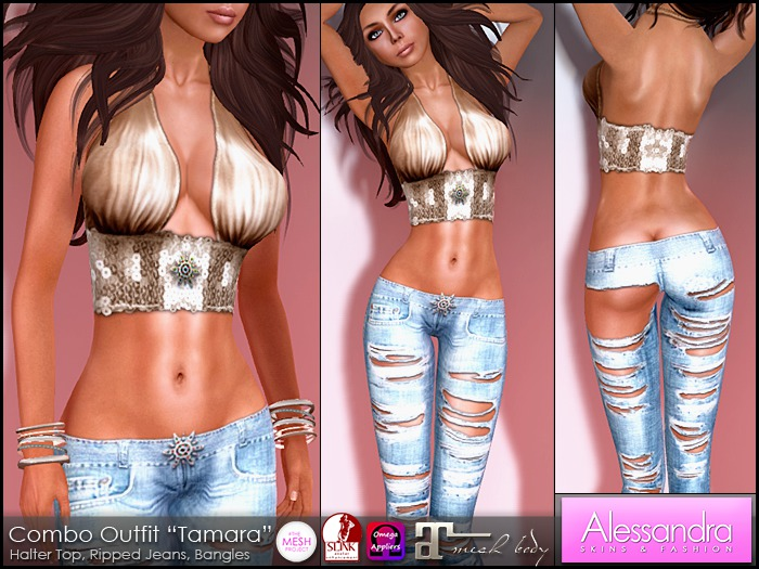 "ALESSANDRA - Combo Outfit ""Tamara"""