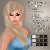 !SOUL - HAIR - Camellias - 12 Nuances - BLACK/ WHITE/ GREY
