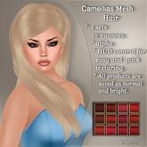 !SOUL - HAIR - Camellias - 12 Nuances - RED