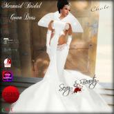 Mermaid Bridal Gown Dress - Chole DEMO