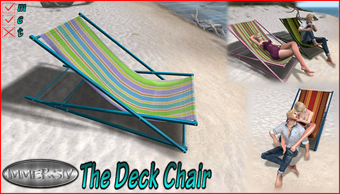 IMMERSIV  -The Deck Chair-