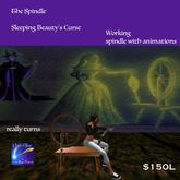 The Spindle Sleeping Beauty's Curse (crate)