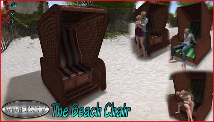 IMMERSIV - The Beach Chair- (PG)  {german Strandkorb}