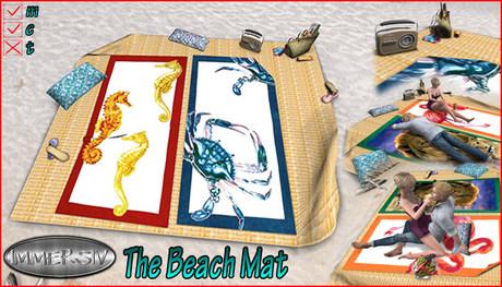 IMMERSIV -Beach Mat- (PG)
