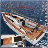 Windsong - TMS/Bandit Ushuaia Deck Wood, Rich Teak - Texture Appliers