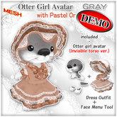 :Risusipo:DEMO_Otter_Girl_mesh_avatar_Pastel-Orange_boxed
