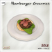 [V/W] Hamburger Gourmet - Mesh Food - Haute cuisine beef burger