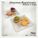 [V/W] Gourmet Appetizer - Food Mesh - Two Tartare & Chips recipes