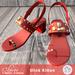 Slipper - Clover Sandals Red