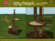 Gaagii -  I ♥ My Kitty Climbpole