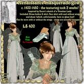 Wunderlich's Renaissance Masquerade Gown c. 1400-1450