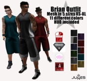 JUNES Brian Outfit with HUD