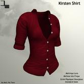 DE Designs - Kirsten Shirt - Red