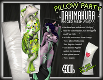 ::Static:: Pillow Party Dakimakura Avatar
