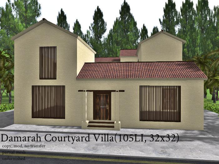 Damarah Courtyard Villa(105, 32x32)