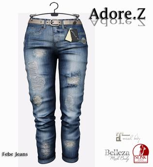 Adore.Z - Febe Jeans Blue Dark