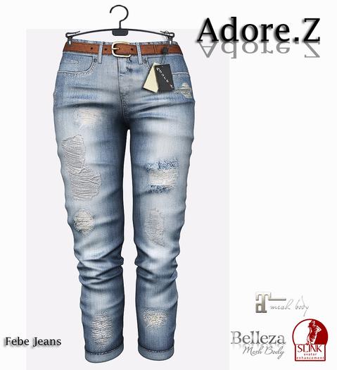 Adore.Z - Febe Jeans Light Bue