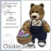 "Sway`s Cookie Bear ""EASTER #2"""