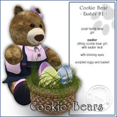 "Sway`s Cookie Bear ""EASTER #1"""