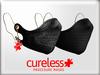 CURELESS [+] Procedure Mask / Gauze+Skull BLACK