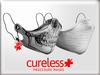 CURELESS [+] Procedure Mask / Gauze+Skull WHITE